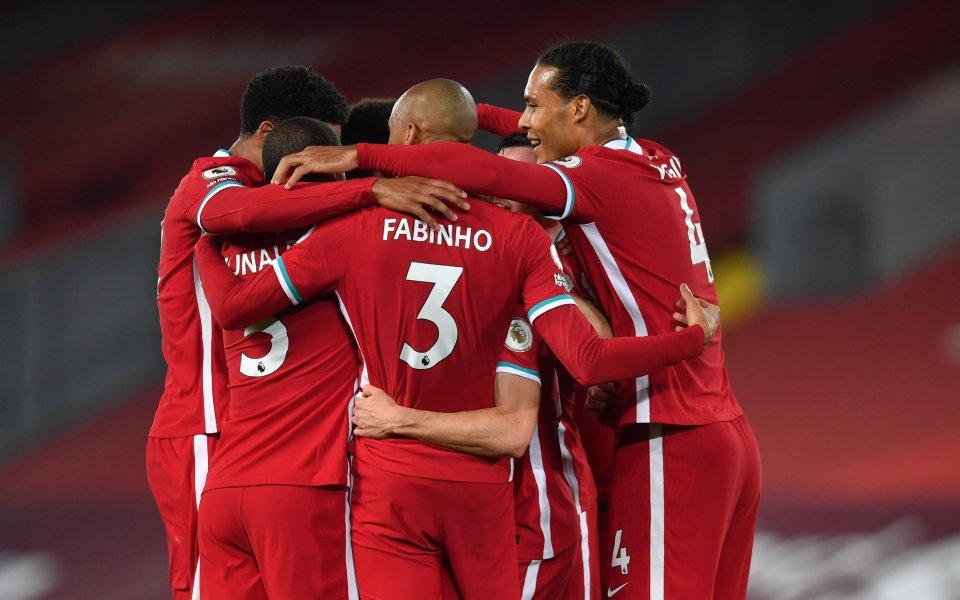 Отборът на Ливърпул изпревари Манчестър Сити и вече е съставът