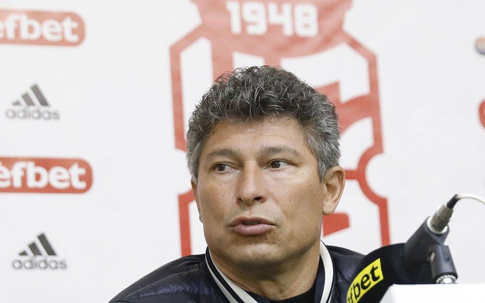 Главният мениджър на ЦСКА 1948 - Красимир Балъков, сподели очакванията