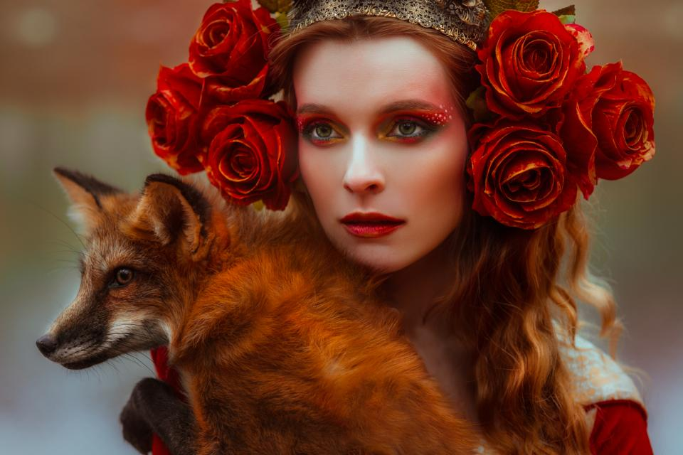 жена лисица