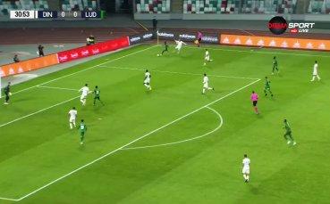 Динамо Брест - Лудогорец 0:0 /първо полувреме/