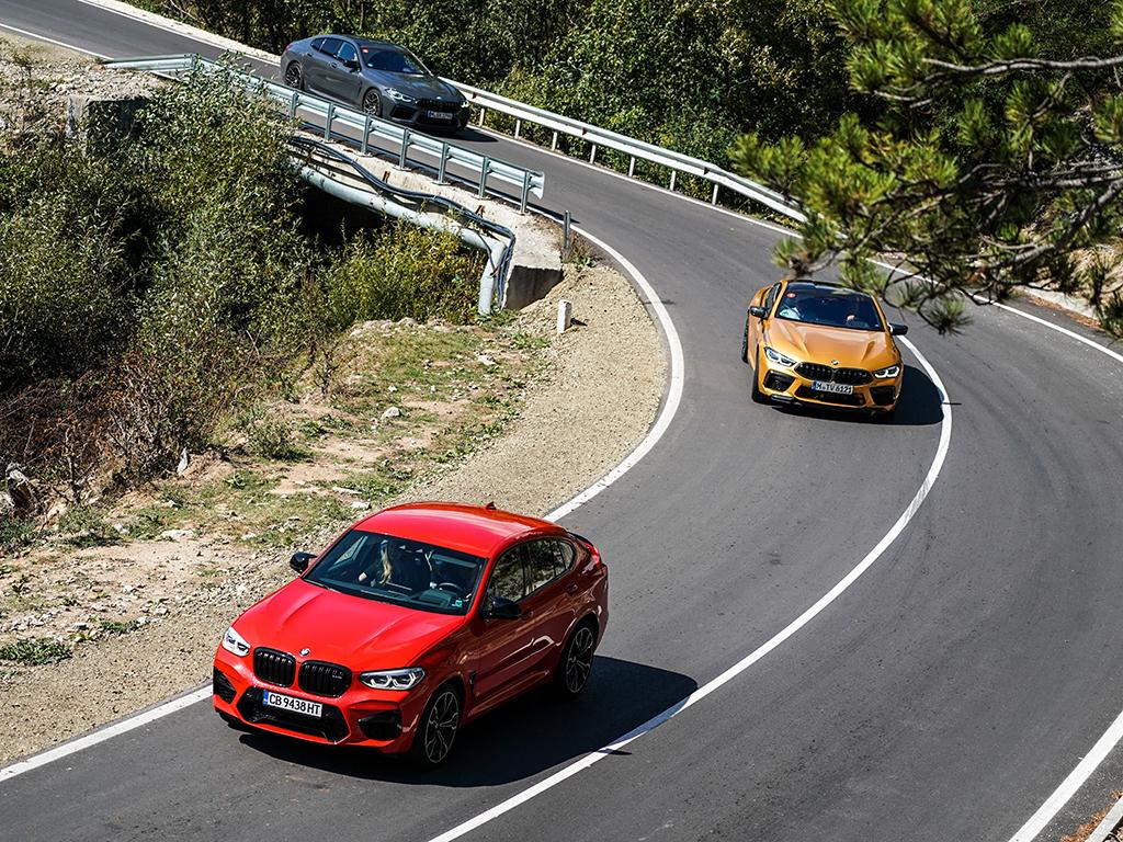<p>Х4 M Competition/BMW M Drive Tour галерия</p>