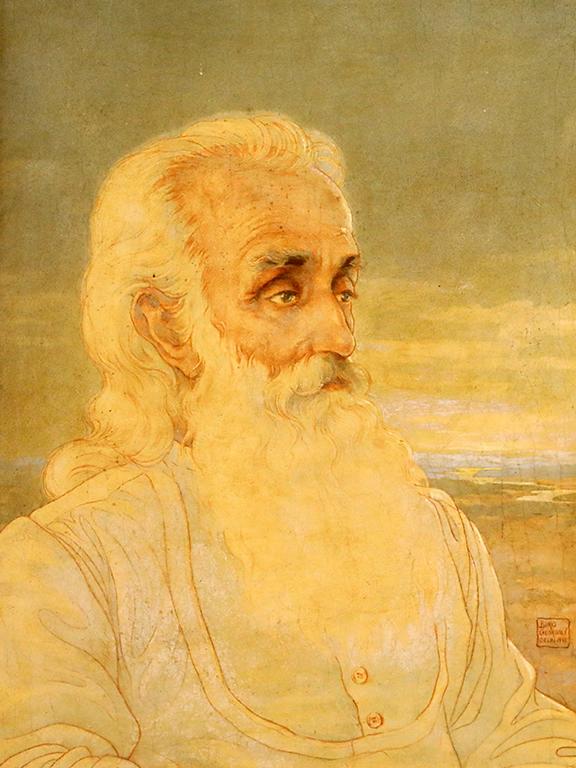 <p>Борис Георгиев, Рабиндранат Тагор 1933 г.</p>