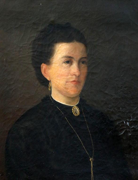 <p>Христо Цокев, Портрет на Вера Недкова от големия габровски род Недкови 1875 г.</p>
