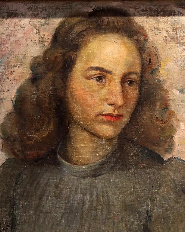 <p>Елена Карамихайлова, Портрет на Хайди, съученичка от Робърт колеж</p>