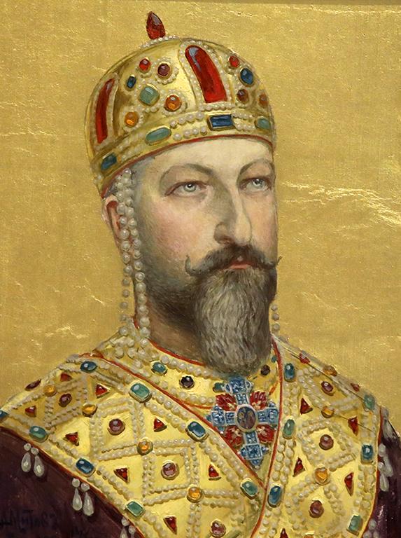 <p>Антон Митов, Портрет на Цар Фердинанд</p>