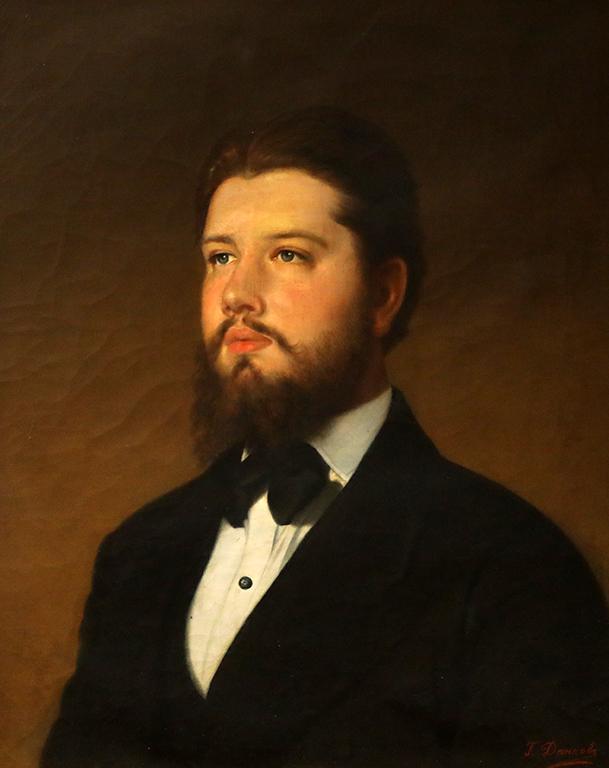 <p>Георги Данчов-Зографина, Портрет 1896 г.</p>