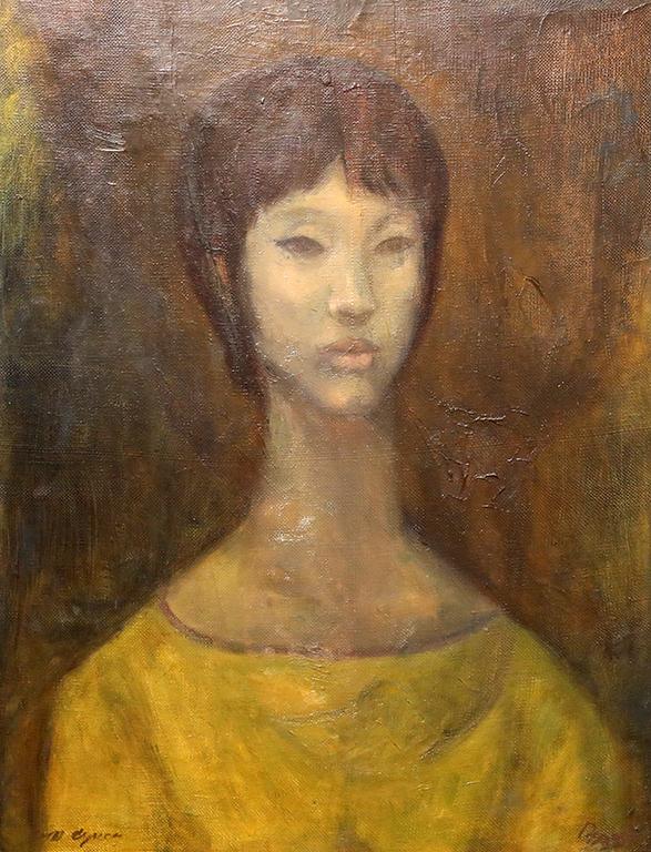 <p>Дечко Узунов, Портрет на Сун - съпругата на Марин Върбанов</p>