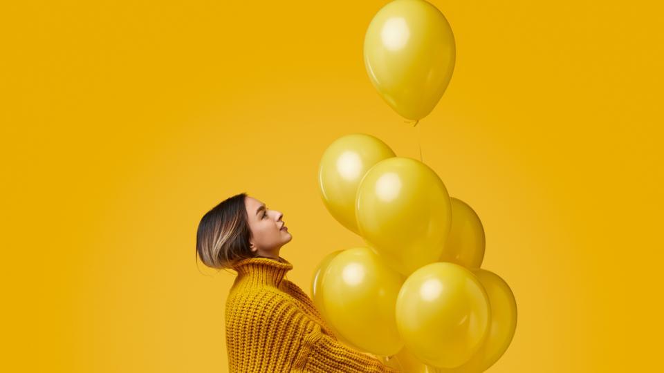 жена балони