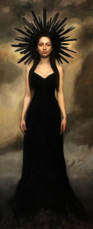 <p>Извисена тъмна душа - маслени бои/платно Tall Dark Soul -oil paint on canvas</p>