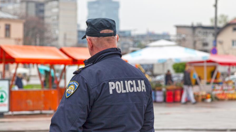 Стрелба пред сградата на правителството в Загреб