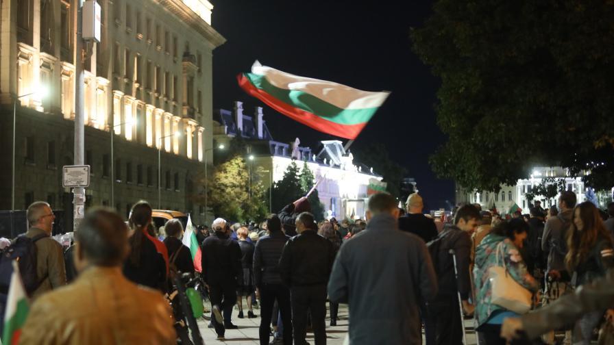 102 вечер на протест в София