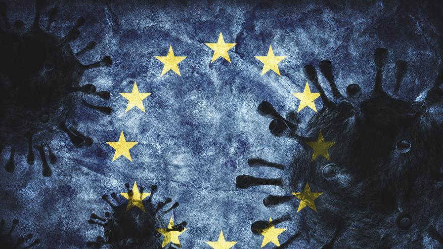 Над 100 000 случая на COVID-19 в ЕС, кои са червените зони