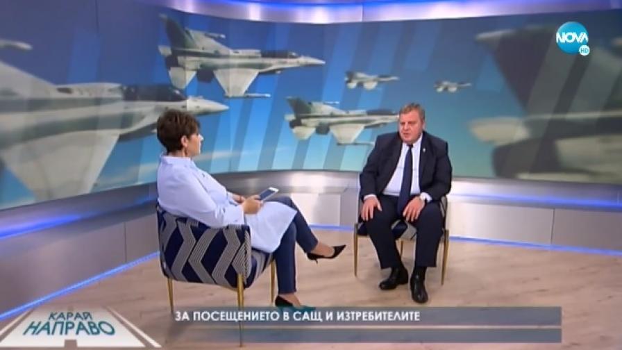 Каракачанов: Още бойни самолети ще бъдат купени