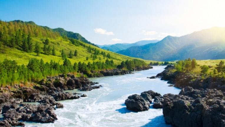 река природа гледка