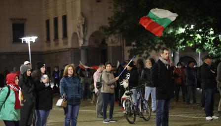 109-а вечер на протести