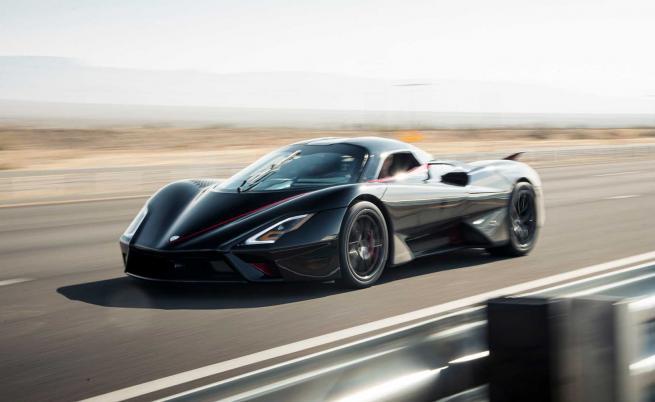 508 км/ч! SSC Tuatara е най-бързият сериен автомобил в света