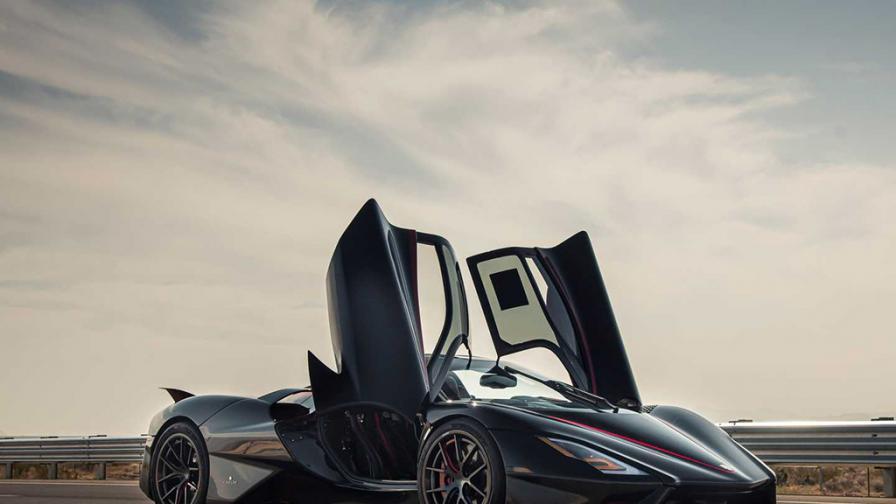 Най-бързият сериен автомобил в света