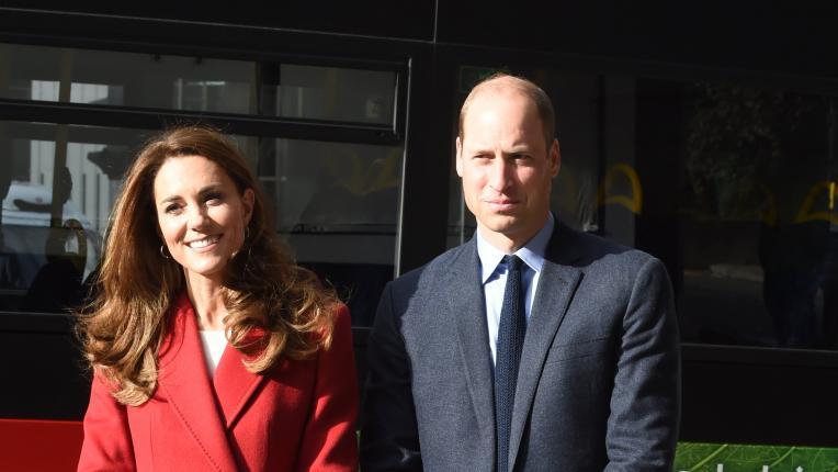 Кейт Мидълтън с пленителна визия и обща поява с принц Уилям