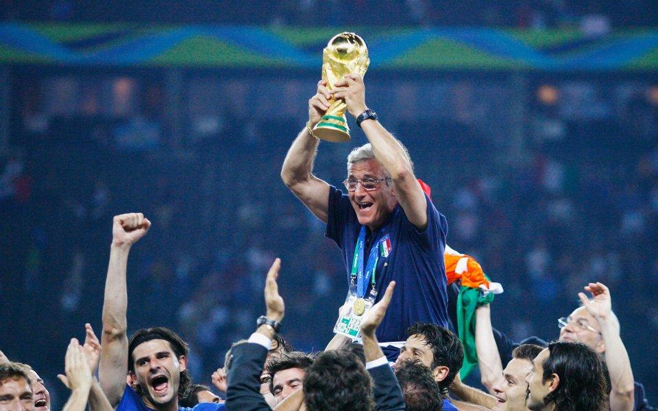 Световният шампион с Италия Марчело Липи официално разкри, че се