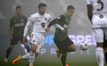 Сасуоло и Торино спретнаха истинско голово шоу под дъжда