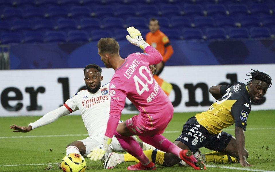 Отборът на Лион не показа никаква милост срещу Монако в