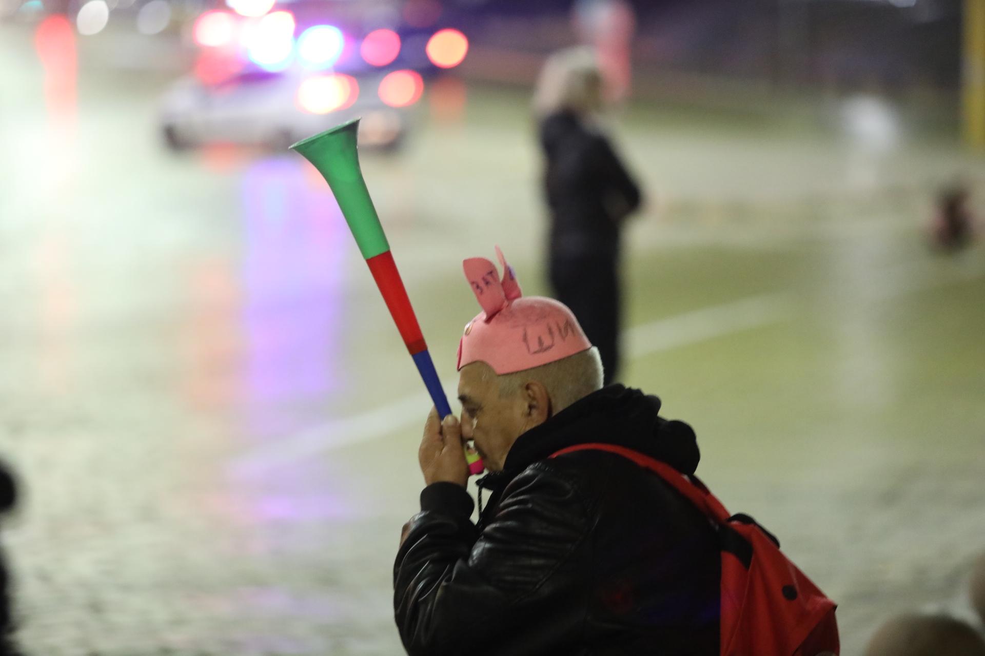 110 вечери на антиправителствени протести