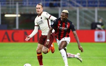 Точно преди ЦСКА: Рома спря серията на Милан в пищно равенство