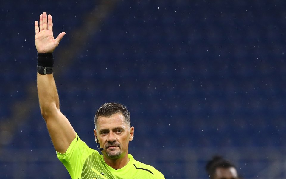 Главният съдия на дербито от петия кръг на Серия А