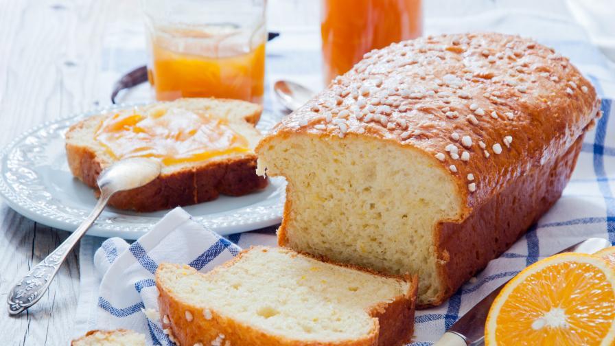 Рецепта за най-вкусния сладък хляб