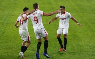 В Севиля са доволни от първия успех в Шампионска Лига