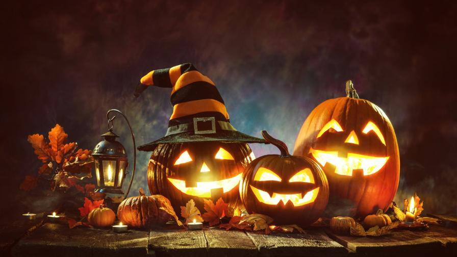 Фенери от тиква за Хелоуин