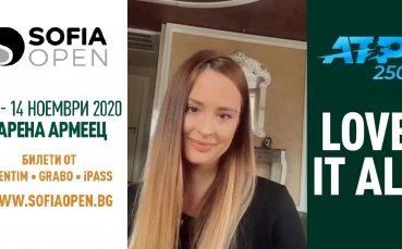"""""""Златното момиче"""" Християна Тодорова – посланик на Sofia Open 2020"""