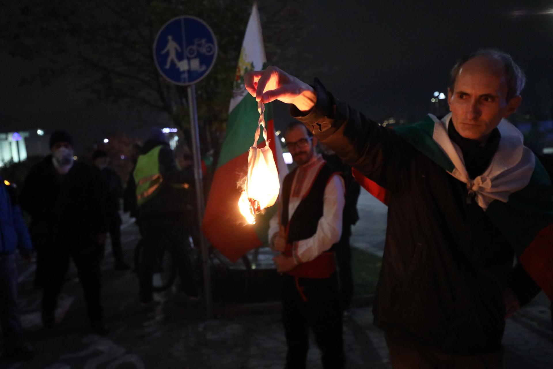 <p>Ден 118 на антиправителствени протести</p>