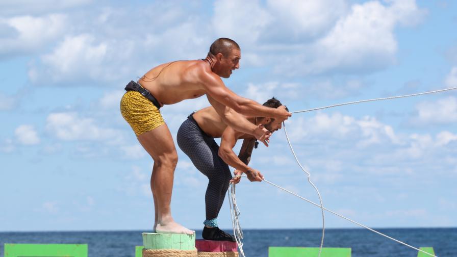 """Рибарите с предимство в Номинационната битка в """"Игри на волята: България"""""""