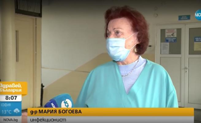 Д-р Мария Богоева на 81 г. на първа линия в борбата с COVID-19