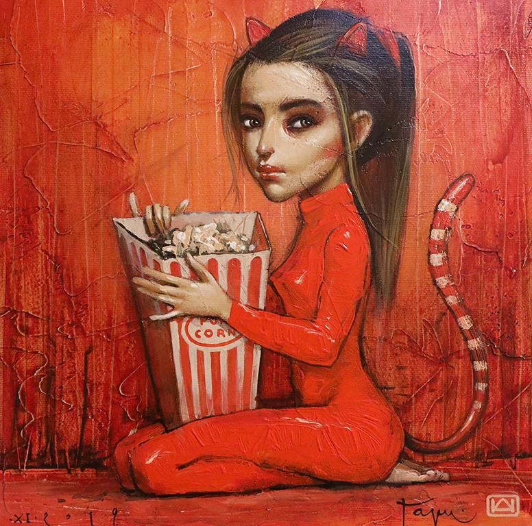 <p><strong>Жената котка</strong></p>  <p>За първи път пред софийската публика Николай Ангелов - Гари e представен именно от галерия &bdquo;Париж&ldquo; през 2011 г.&nbsp; с изложбата &ldquo;Нов живот&rdquo;.</p>