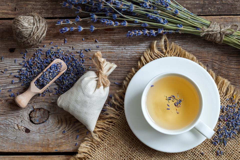 чай лавандула