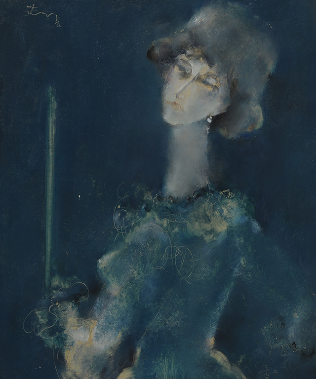 <p>Женски портрет &ndash; м.б. шперплат</p>