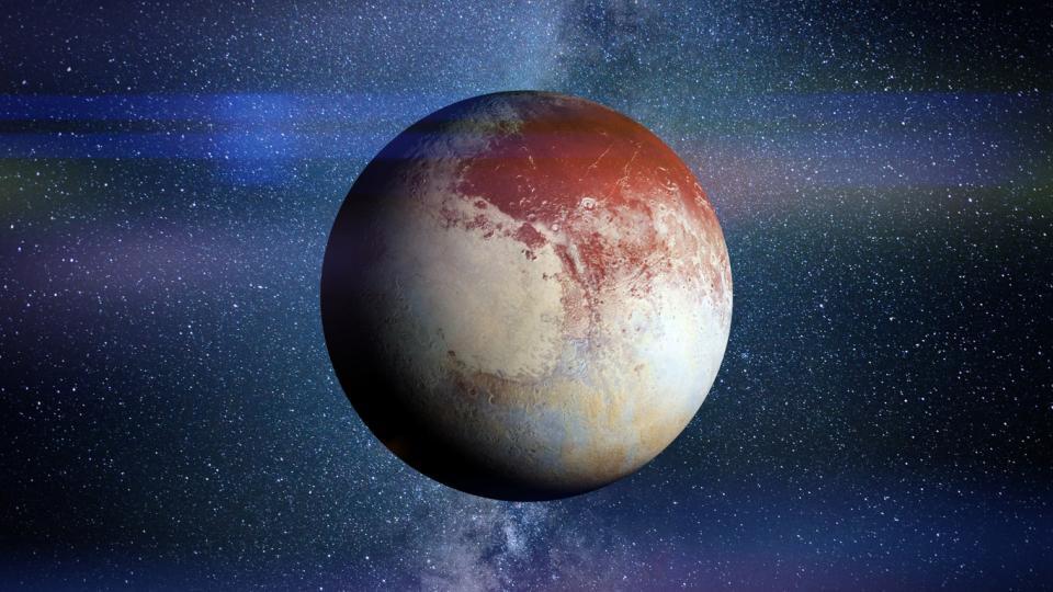Плутон планета планети космос астрология
