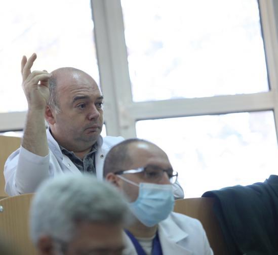 Пресконференция в Александровска болница