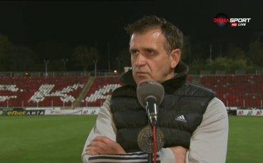 Акрапович: ЦСКА е най-големият отбор в България