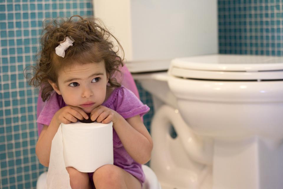 дете тоалетна диария гърне