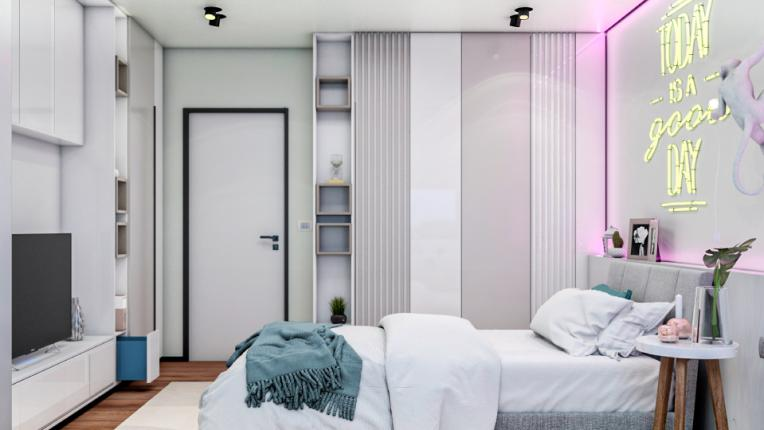 спалня интериор