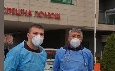 Тервел Пулев отново стана доброволец