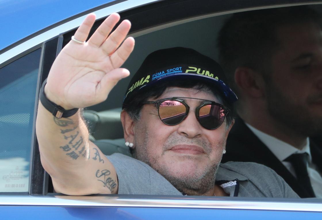 <p>Диего Армандо Марадона</p>