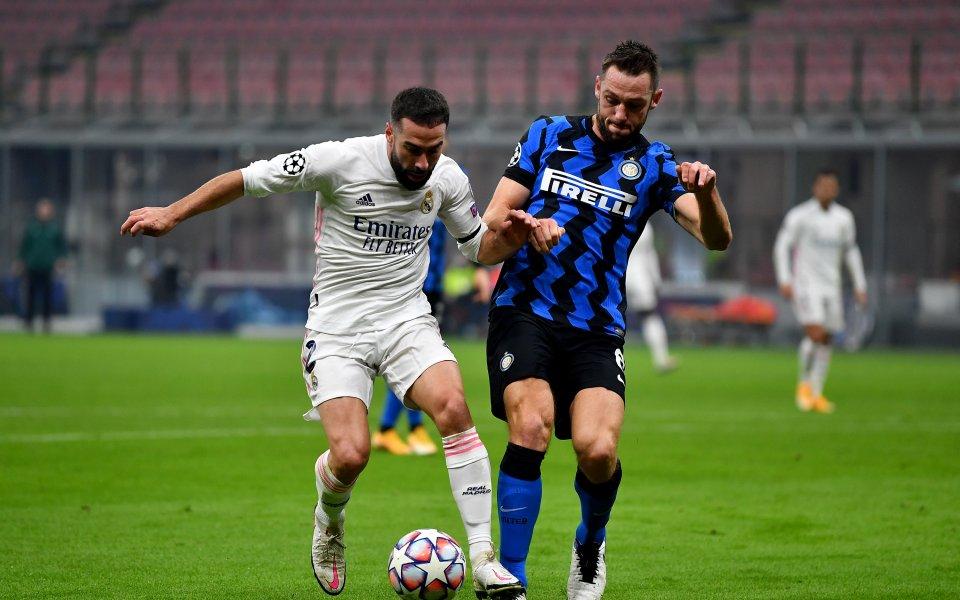 Реал Мадрид постигна изключително важна победа като гост на Интер