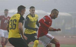 Под гъстата столична мъгла: ЦСКА повторно преклони глава пред Йънг Бойс