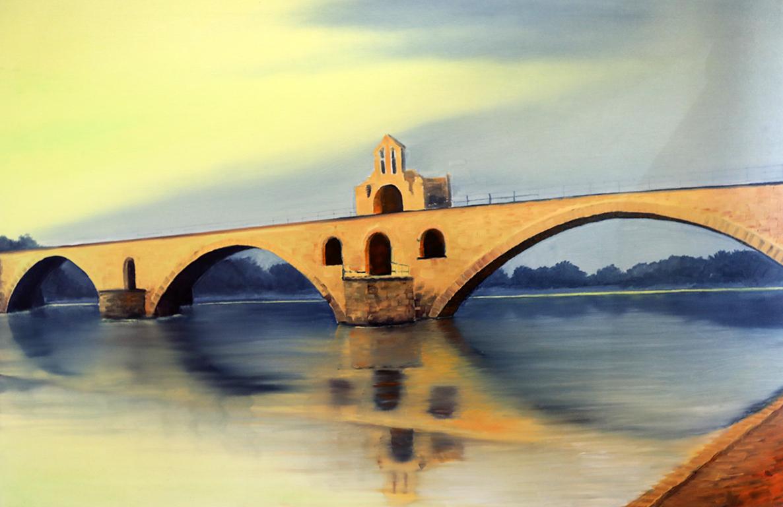 <p>Роман Гуманюк, &bdquo;Мост в Авиньон, Франция&rdquo;</p>