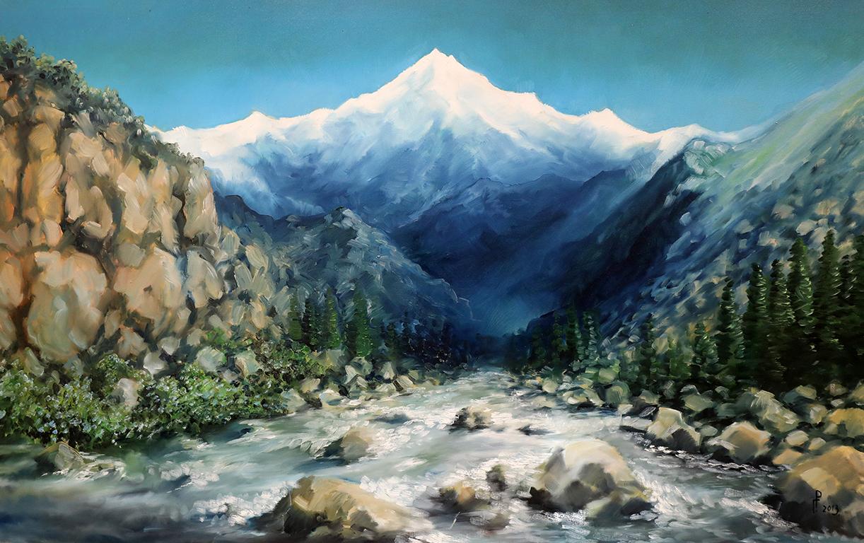 <p>Роман Гуманюк, &bdquo;Река Аламедин, Киргизия&rdquo;</p>