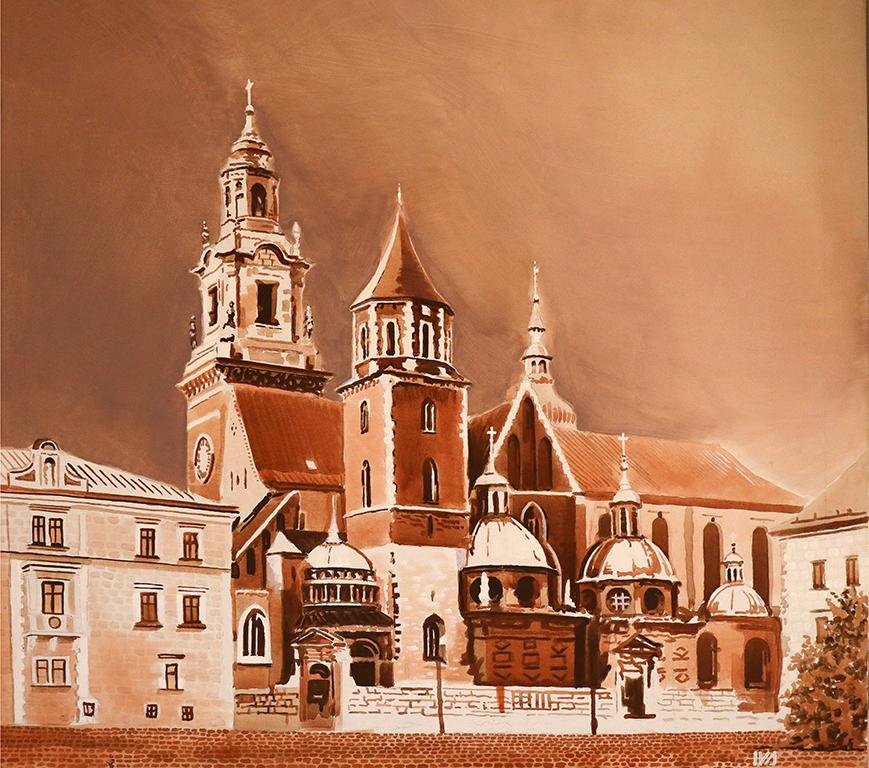 <p>Иванна Шмелева, &bdquo;Католическа катедрала, Краков, Полша&rdquo;</p>